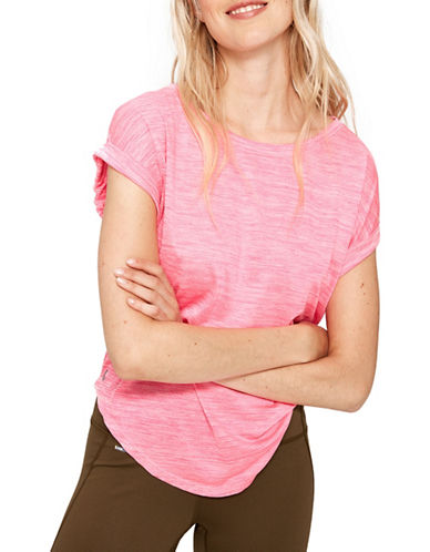 Lole Alanah Cap Sleeve Top-HOT PINK-Medium 89403839_HOT PINK_Medium