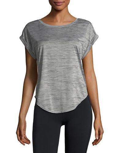Lole Alanah Cap Sleeve Top-BLACK-X-Small