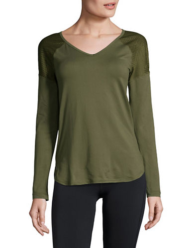 Lole Kuma Vented Top-GREEN-Medium 89597974_GREEN_Medium