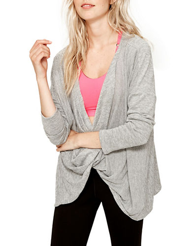 Lole Mel 2-in-1 Top-GREY HEATHER-X-Large