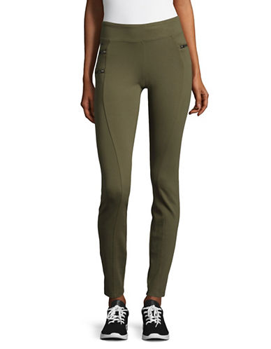 Lole Flow Stretch Pants-GREEN-X-Large