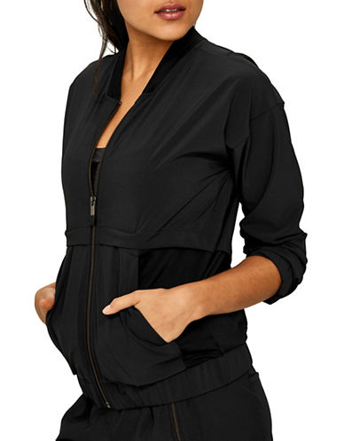 Lole Lightweight Relax-Fit Jacket-BLACK-X-Large 89730258_BLACK_X-Large
