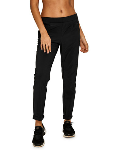 Lole Skinny-Leg Track Pants-BLACK-Small