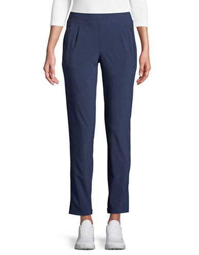 Lole Skinny-Leg Track Pants-BLUE-X-Small
