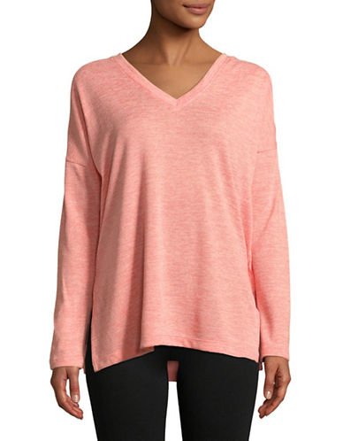 Lole Kaseka V-Neck Top-PINK-X-Large