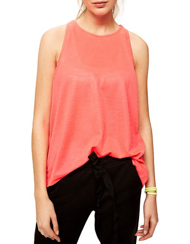 Lole Jane Drapey Tank Top-PINK-X-Large
