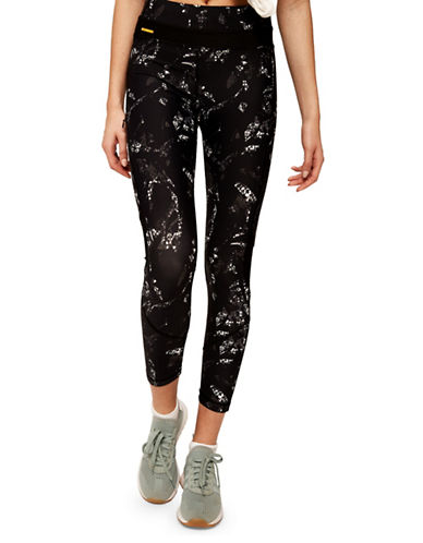Lole Mid-Rise Burst Ankle Leggings-METEOR-Large