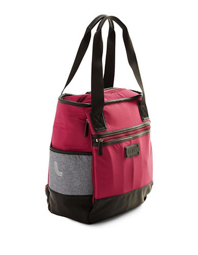 Lole Lifestyle Tote Bag-BERRY-One Size
