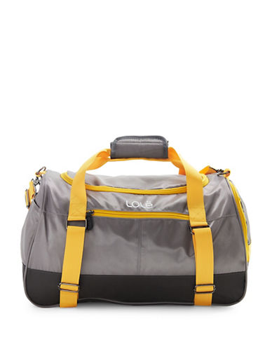 Lole Brazen Duffel Bag-GREY-One Size