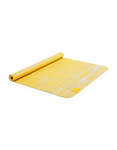 Lole Travel Rubber Yoga Mat-YELLOW-One Size