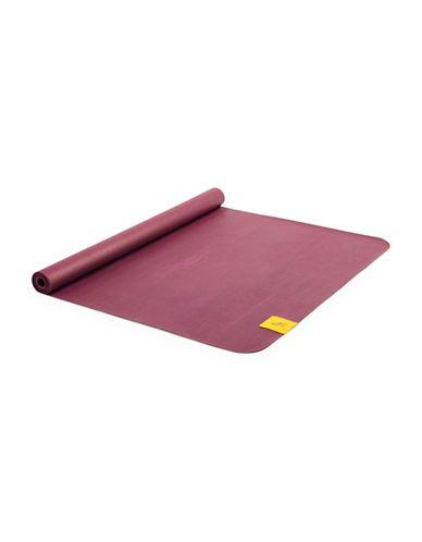 Lole Travel Rubber Yoga Mat-PURPLE-One Size