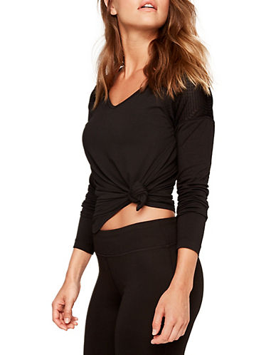 Lole Kuma Vented Top-BLACK-X-Large