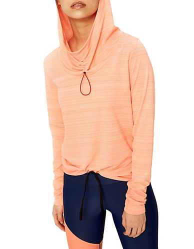 Lole Hunter Hooded Top-CORAL PINK-Large 89994457_CORAL PINK_Large