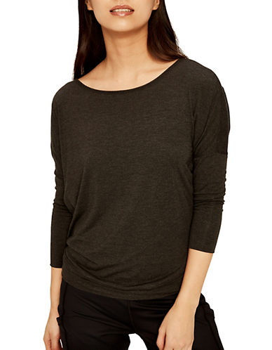Lole Elisia Top-BLACK HEATHER-X-Small 90013823_BLACK HEATHER_X-Small