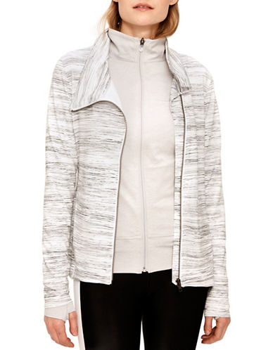 Lole Essential Printed Cardigan-WHITE-X-Large 89994416_WHITE_X-Large