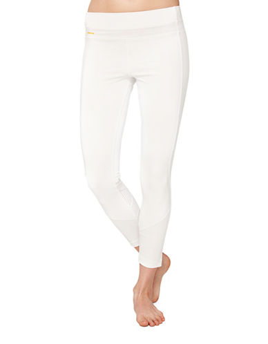 Lole Burst Mid-Rise Ankle Leggings-WHITE-Small