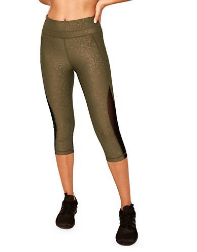 Lole Run Capri Leggings-GREEN-Medium 90013840_GREEN_Medium