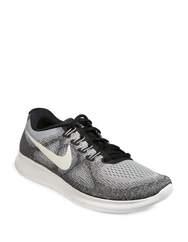 Nike Mens Free RN Running Shoes-GREY-8 89255407_GREY_8