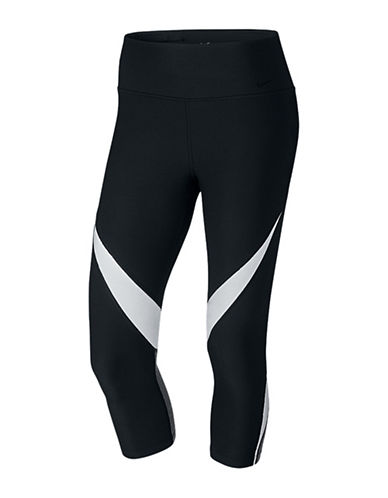 Nike Power Legend Midrise Training Capris-BLACK-X-Small 88755830_BLACK_X-Small