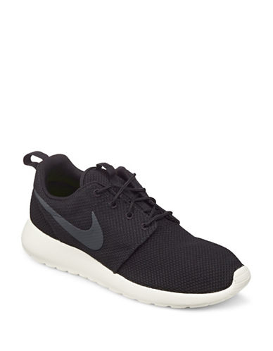 Nike Roshe One Sneakers-BLACK-12
