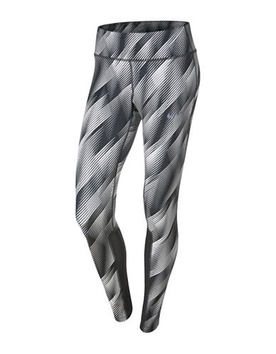 Nike Power Epic Running Tights-WHITE MULTI-X-Large
