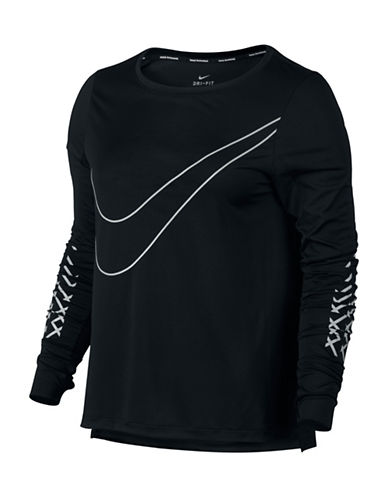 Nike Dri-FIT Long-Sleeve Top-BLACK-Large 88952406_BLACK_Large