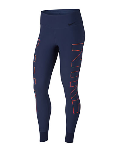Nike Power Legend Tights-BLUE-X-Small