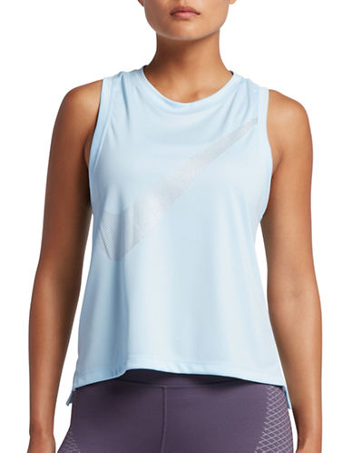Nike Dry Running Tank Top-BLUE-Medium 89203155_BLUE_Medium