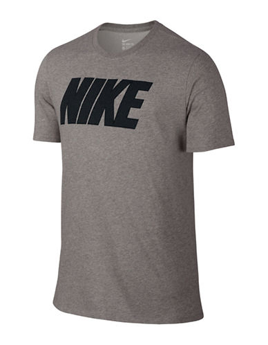 Nike Block T-Shirt-DARK GREY-Small 88495999_DARK GREY_Small