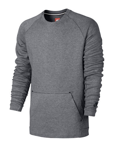 Nike Sportswear Tech Fleece Crew Top-CARBON-Large 88772314_CARBON_Large