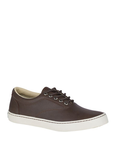 Sperry Cutter CVO Low Top Sneakers-BROWN-8.5