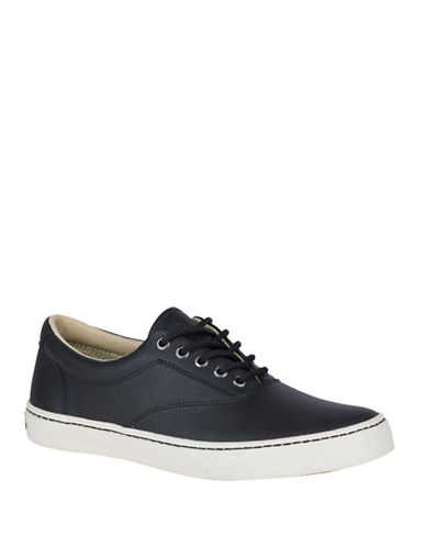 Sperry Cutter CVO Low Top Sneakers-BLACK-10.5
