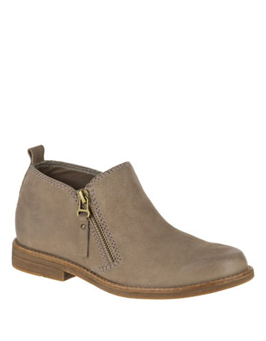 Hush Puppies Mazin Cayto Booties-TAUPE-8.5