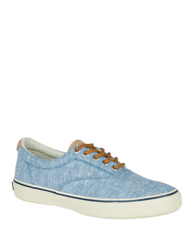 Sperry Striper Top-Sider Sneakers-BLUE-8.5