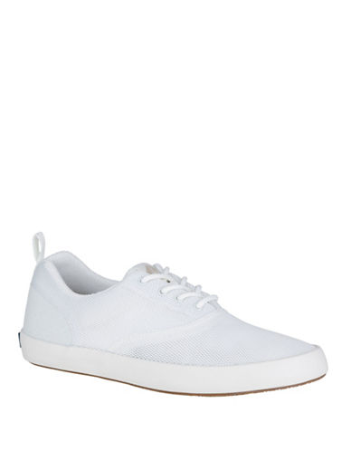 Sperry Flex Deck CVO Mesh Sneakers-WHITE-10.5