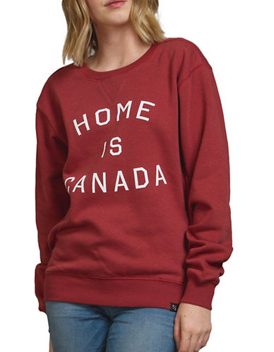 Peace Collective Home is Canada Sweatshirt-RED-Small 88845455_RED_Small