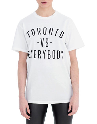 Peace Collective Toronto vs Everybody Tee-WHITE-X-Small
