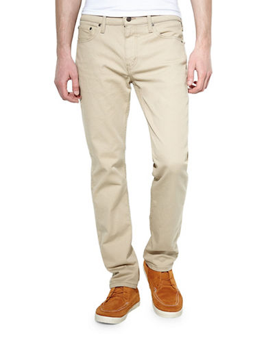 LeviS 511 Slim Fit True Chino Pants-BEIGE-34X34