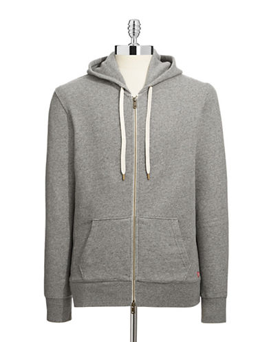 Levi'S Original Full Zip Hoodie-GREY-X-Large 87069658_GREY_X-Large