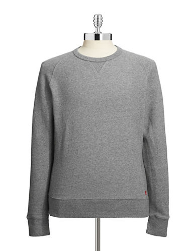 Levi'S Original Crew Neck Sweatshirt-GREY-Medium 87069664_GREY_Medium
