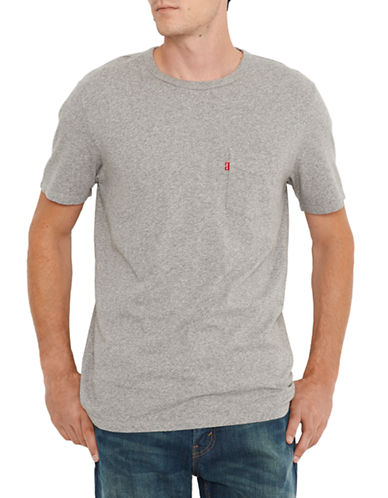 Levi'S Sunset Pocket T-Shirt-GREY-Small 87694555_GREY_Small