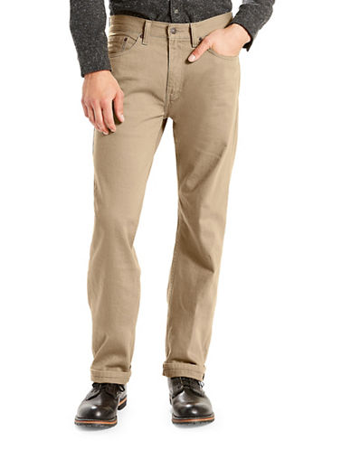 LeviS 505 Timberwolf Regular-Fit Jeans-BEIGE-33X32