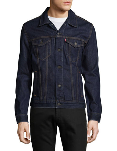 LeviS The Trucker Jacket-BLUE-Small