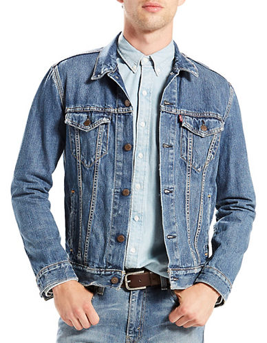 LeviS The Shelf Trucker Jacket-BLUE-X-Large