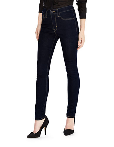 LeviS 721 High Rise Skinny Jeans in Cast Shadows-BLUE-32