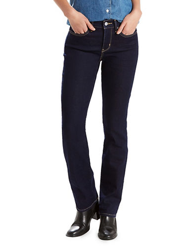 LeviS Darkest Sky Straight Jeans-NAVY-25