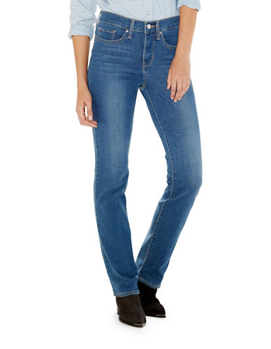 LeviS 314 Shaping Straight Jeans in Worn Blue-BLUE-27