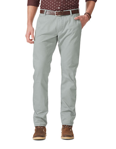 Dockers Alpha Athletic Fit Pants-BURMA GREY-34X32