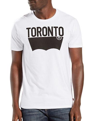 Levi'S Toronto Destination City Tee-WHITE-Large 88993033_WHITE_Large