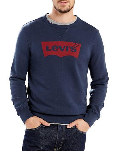 Levi'S Logo Sweatshirt-BLUE-Medium 89172090_BLUE_Medium